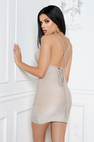 All That Glitters Dress in Silver