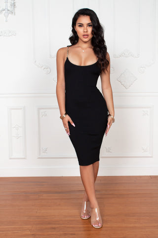 Play No Games Midi Dress