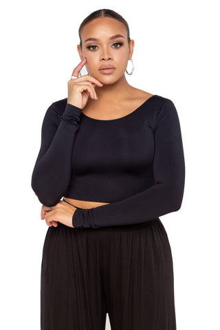 Riley Turtleneck Mini Dress - Black
