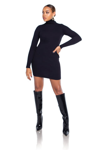 To The Top Turtleneck Bodysuit