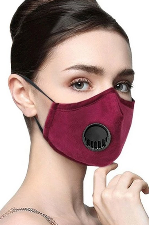 Washable & Reusable Face Mask with Muffle Respirator - ShopLuvB