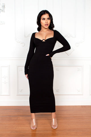 Lovestruck Velvet Dress