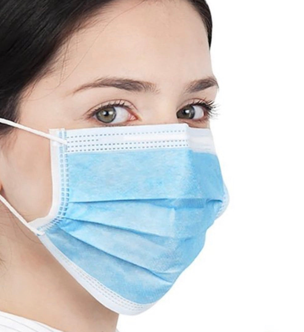 Disposable Face Mask (Pack of 10) - ShopLuvB
