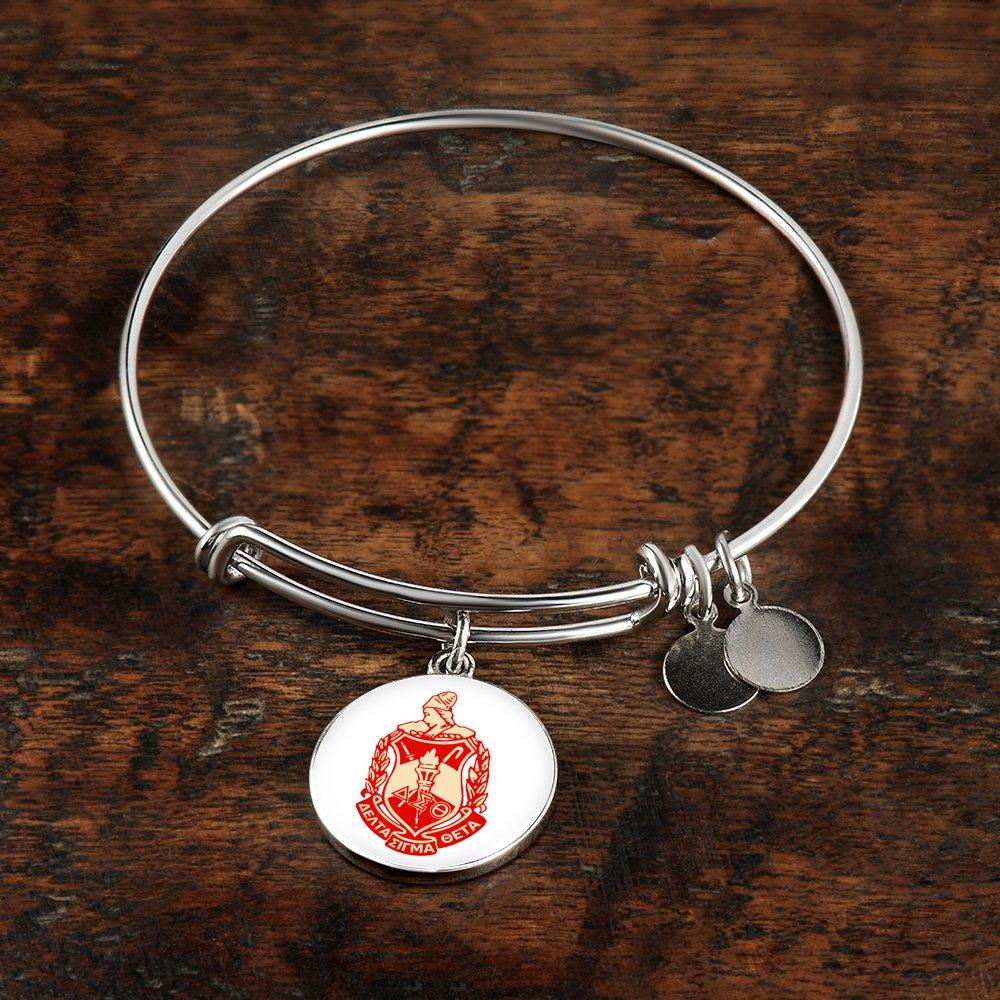 Delta Sigma Theta Charm Bangle Greek Supply