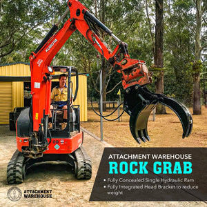 Avoid The Pitfalls Of Buying Inferior Products - Your Guide to Buying A Hydraulic Rock Grab