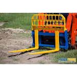 Auger Torque Pallet Forks - 1800kg (1220mm Tines) - Attachment Warehouse