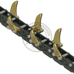 Auger Torque 100mm X 600mm- Tungsten Trenching Depth Chains To Suit Mt600 - Attachment Warehouse