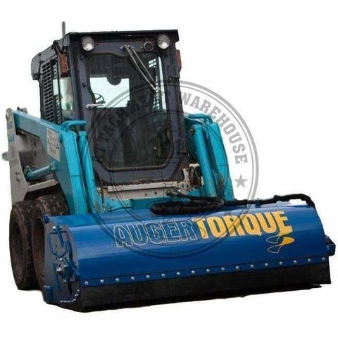 "Auger Torque 2100mm X 24"" Skidsteer Sweeper Broom - Attachment Warehouse"