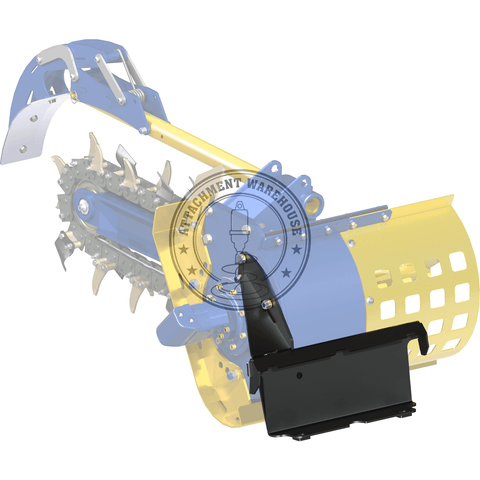 Auger Torque Avant Mini Loader Trencher Frame To Suit Mt Range - Attachment Warehouse