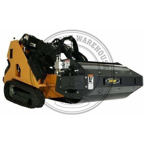 "MINI VIBRATORY ROLLER - 914MM (36"") SMOOTH DRUM - MINI MULTIFIT - Attachment Warehouse"