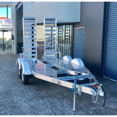 Jimboomba 3.5 Tonne Aluminum Excavator Trailer - Attachment Warehouse