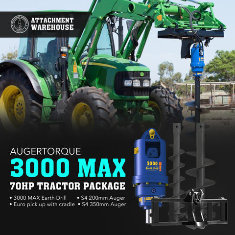 3000 Max - 70HP Tractor Package - Attachment Warehouse