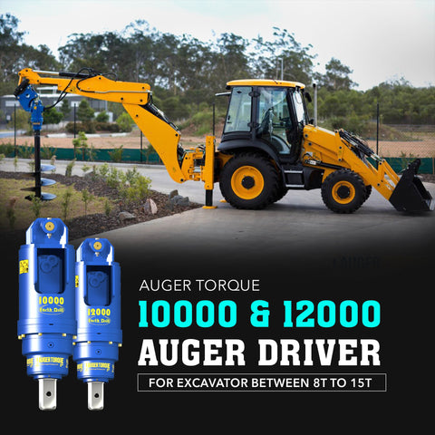Auger Torque 10000 & 12000 Auger Drive - Attachment Warehouse