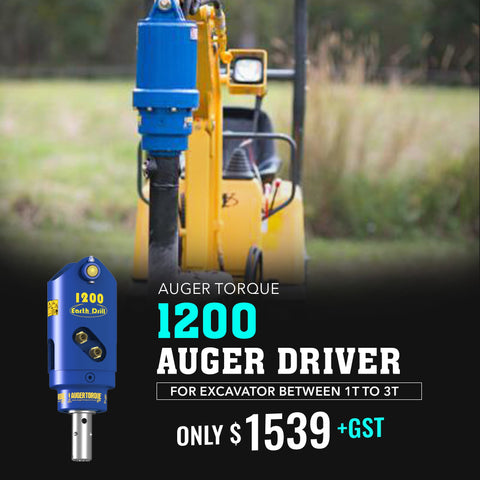 Auger Torque 1200 Auger Drive - Attachment Warehouse