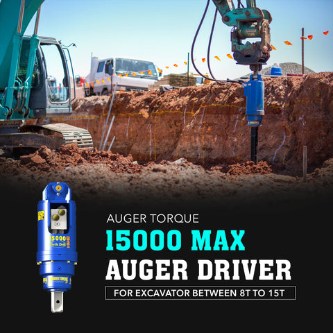 Auger Torque 15000 Max Auger Drive - Attachment Warehouse