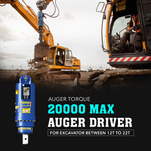 Auger Torque 20000 Max Auger Drive - Attachment Warehouse