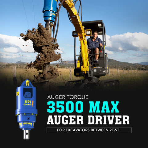 Auger Torque 3500 Max Auger Drive - Attachment Warehouse