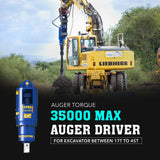 Auger Torque 35000 Max Auger Drive - Attachment Warehouse