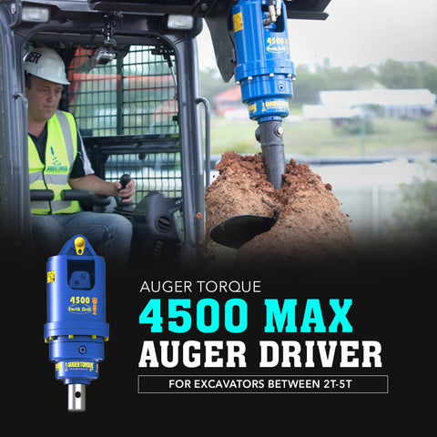 Auger Torque 4500 Max Auger Drive - Attachment Warehouse