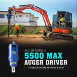 Auger Torque 5500 Max Auger Drive - Attachment Warehouse