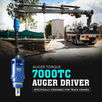 Auger Torque 7000 TC Auger Driver (Truck Crane Only) - Attachment Warehouse