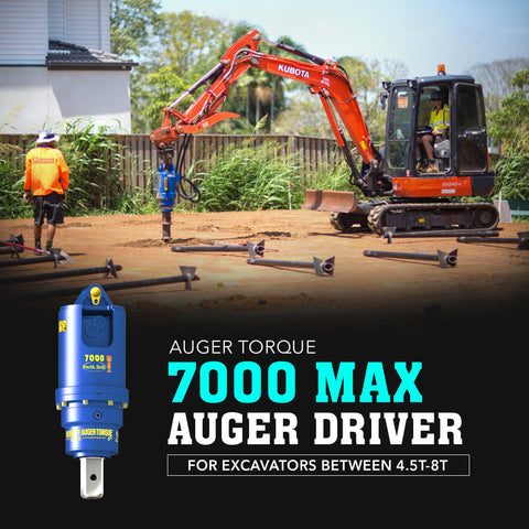 Auger Torque 7000 Max Auger Driver - Attachment Warehouse