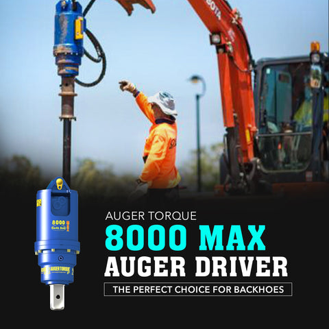 Auger Torque 8000 Max Auger Driver - Attachment Warehouse