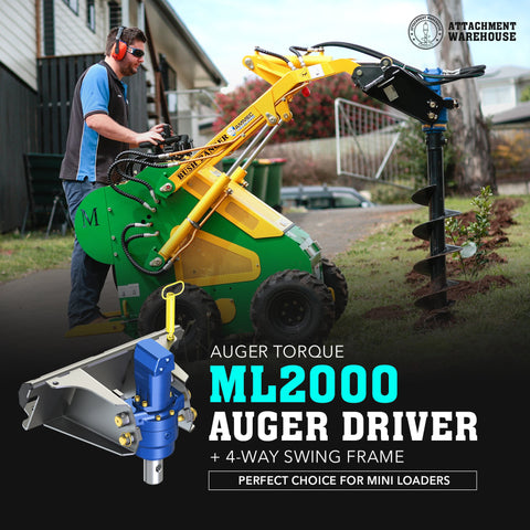 Auger Torque ML2000  Auger Driver - Attachment Warehouse