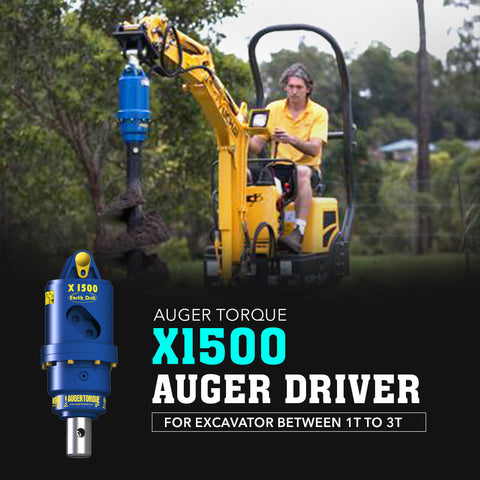 Auger Torque X1500 Auger Driver - Attachment Warehouse