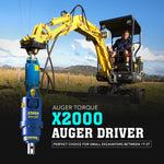 Auger Torque X2000  Auger Driver - Attachment Warehouse