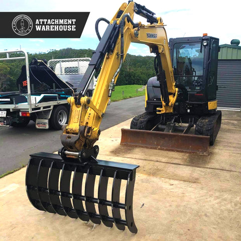 Attachment Warehouse Stick Rake 7-9 Ton