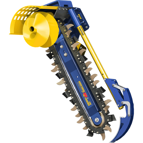 Auger Torque XHD1200 Trencher 4K - Attachment Warehouse