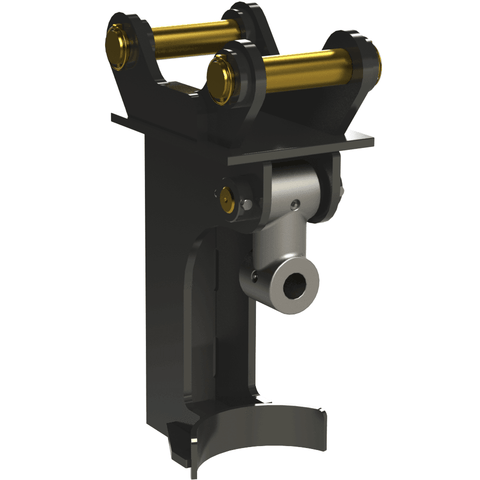 Auger Torque 45mm Double Pin Cradle Hitches To Suit Earth Drill 5500 Max - 8000 Max - Attachment Warehouse