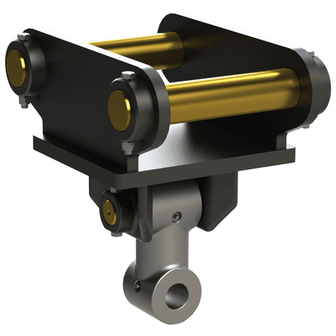 Auger Torque 50mm Double Pin Hitches To Suit Earth Drill 10000 To 25000 Max - Attachment Warehouse