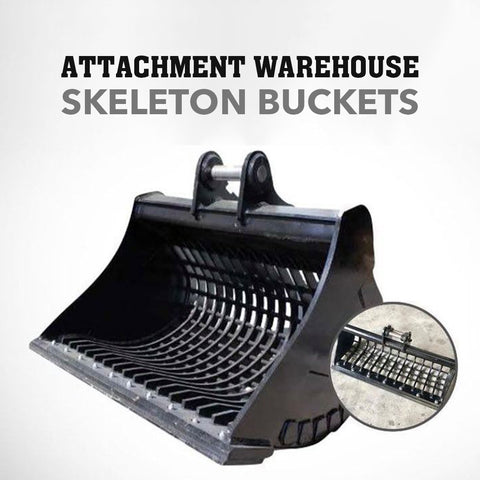 Attachment Warehouse 8-10T Skeleton Bucket