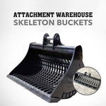 Attachment Warehouse 3-4T Skeleton Bucket