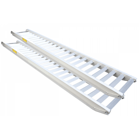 Auger Torque Aluminium Ramps 8.0 Tonne - 3.5m Long - Attachment Warehouse