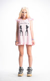 FALLEN ANGEL BABY DOLL DRESS (PINK)