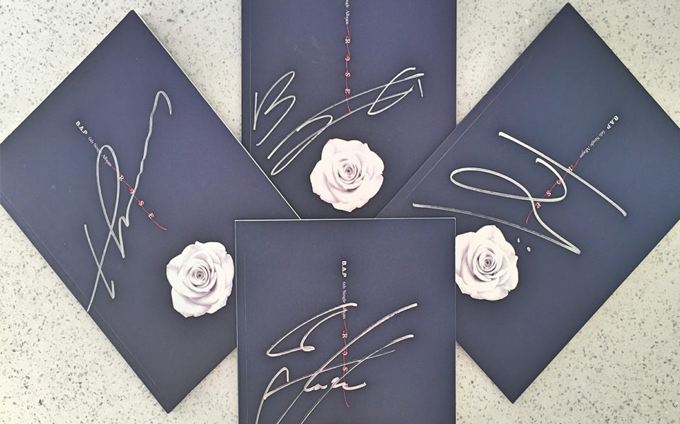 Autographed Rose & B.A.P Poster Giveaway | Social Media