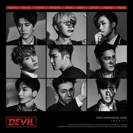 Super Junior - Special Album (Devil)