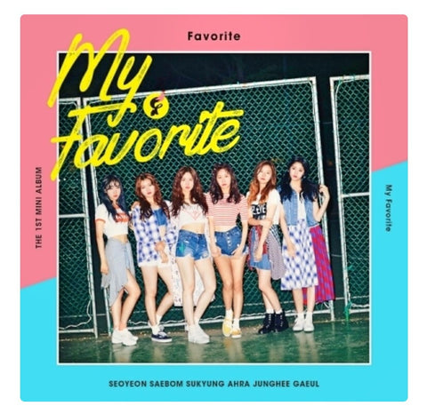 Favorite - My Favorite (1st Mini Album)