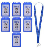 BTS Fan ID Card Holder and Lanyard