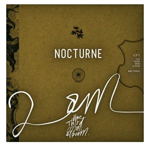 2AM - Nocturne 3rd Mini Album | AUTOGRAPHED