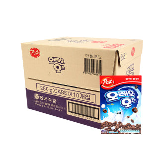 Post Oreo O's Cereal Made in Korea