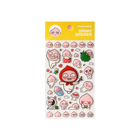 Kakao Friends Official Apeach Stickers