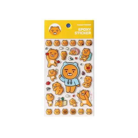 Kakao Friends Official Ryan Stickers