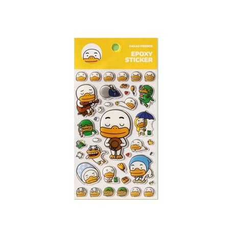Kakao Friends Official Tube Stickers