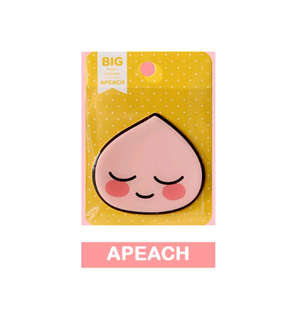 Kakao Friends Official Apeach Face Sticker
