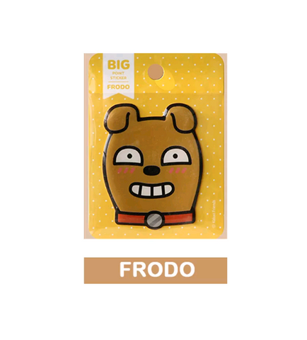 Kakao Friends Official Frodo Face Sticker