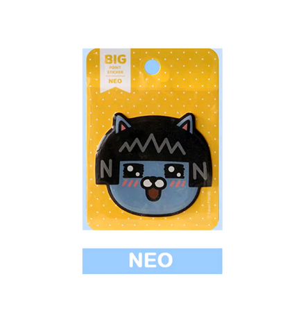 Kakao Friends Official Neo Face Sticker